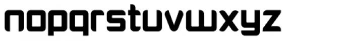 PlatformOne Black Font LOWERCASE