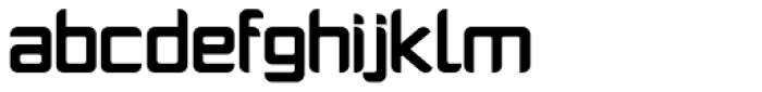 PlatformOne Bold Font LOWERCASE