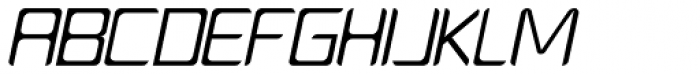 PlatformOne Book Italic Font UPPERCASE