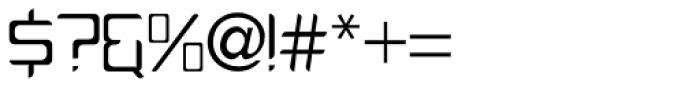 PlatformOne Book Font OTHER CHARS
