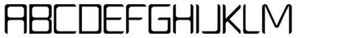 PlatformOne Book Font UPPERCASE