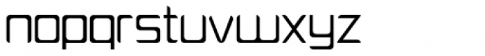 PlatformOne Book Font LOWERCASE