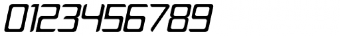 PlatformOne Italic Font OTHER CHARS