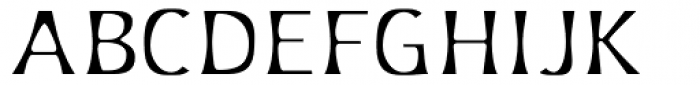 Platforms Light Font UPPERCASE