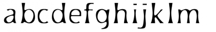 Platforms Light Font LOWERCASE