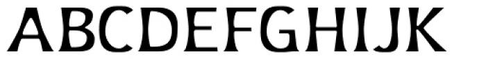 Platforms Regular Font UPPERCASE