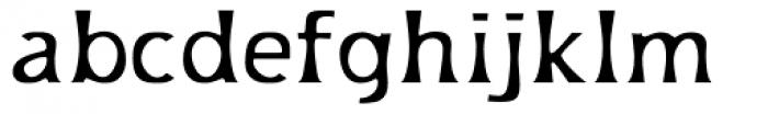 Platforms Regular Font LOWERCASE