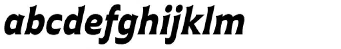 Plathorn Black Italic Font LOWERCASE