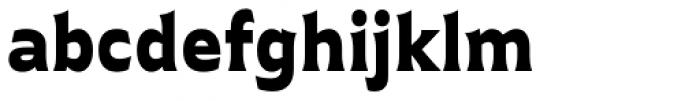 Plathorn Black Font LOWERCASE
