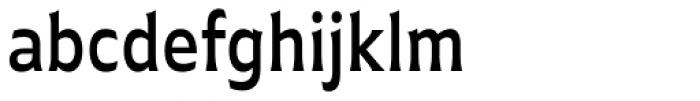 Plathorn Condensed Medium Font LOWERCASE