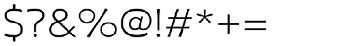Plathorn Extended Light Font OTHER CHARS