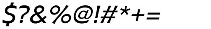 Plathorn Extended Medium Italic Font OTHER CHARS