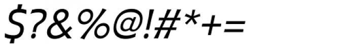 Plathorn Italic Font OTHER CHARS