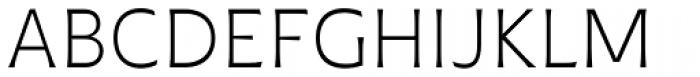 Plathorn Light Font UPPERCASE