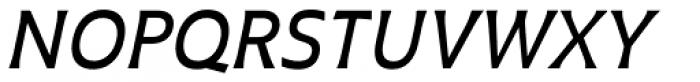 Plathorn Medium Italic Font UPPERCASE