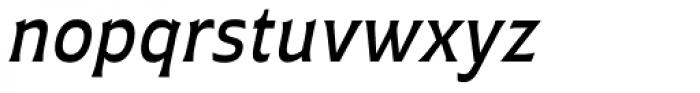 Plathorn Medium Italic Font LOWERCASE