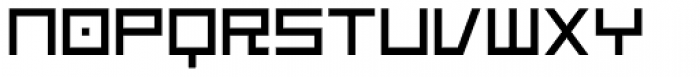 Platinum Beat BTN Font UPPERCASE