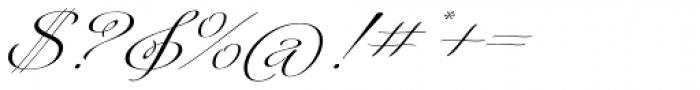 Platinus Script Pro Bold Font OTHER CHARS