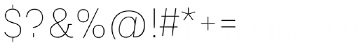 Platz Grotesk Regular Thin Font OTHER CHARS