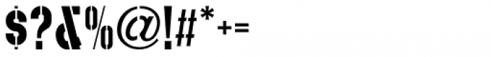 Play Day Stencil JNL Regular Font OTHER CHARS