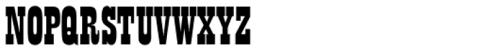 Playbill D Font UPPERCASE