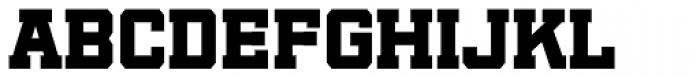 Player Black Font UPPERCASE