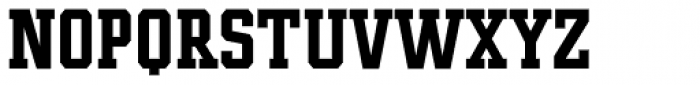 Player Condensed Bold Font UPPERCASE