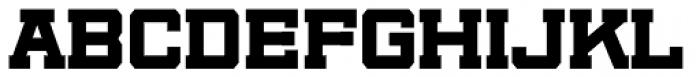 Player Wide Black Font UPPERCASE