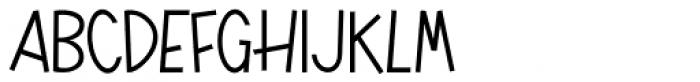 Playful JNL Font LOWERCASE