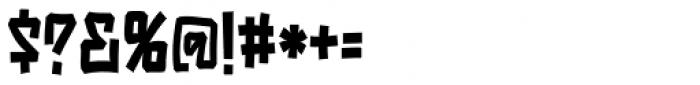 Playya SRF Font OTHER CHARS