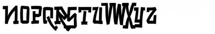 Playya SRF Font LOWERCASE
