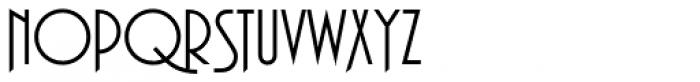 Plaza SH Regular Alt Font UPPERCASE