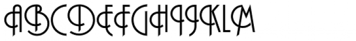 Plaza SH Regular Font UPPERCASE