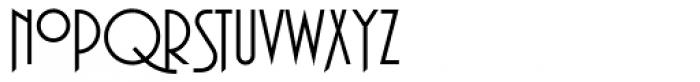 Plaza Swash Font LOWERCASE