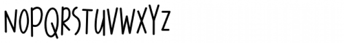 Pleasant Hand Medium Font UPPERCASE