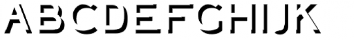 Plebia Embossed Font LOWERCASE