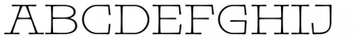 Pleinair Font UPPERCASE