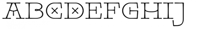 Pleinair Font LOWERCASE