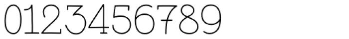 Pleuf Pro Light Font OTHER CHARS