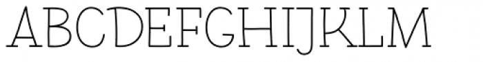 Pleuf Pro Light Font UPPERCASE