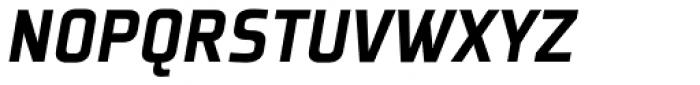Plexes Black Italic Pro Font UPPERCASE