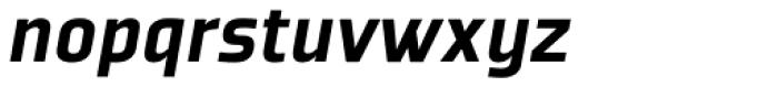Plexes Black Italic Pro Font LOWERCASE