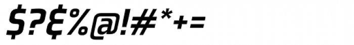 Plexes Black Italic Font OTHER CHARS