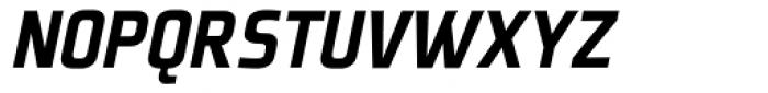 Plexes Black Italic Font UPPERCASE