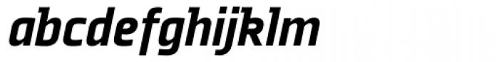 Plexes Black Italic Font LOWERCASE