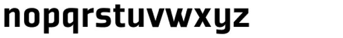 Plexes Black Pro Font LOWERCASE