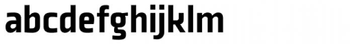 Plexes Black Font LOWERCASE