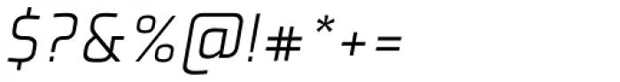 Plexes Light Italic Pro Font OTHER CHARS
