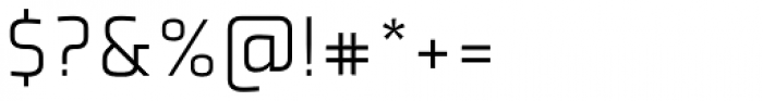Plexes Light Pro Font OTHER CHARS