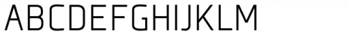 Plexes Light Pro Font UPPERCASE